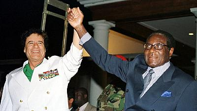 Afadhali Mugabe! Zimbabwe's new president charges his poor citizens a fee to see him