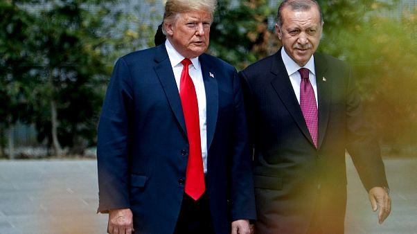 Image: President Donald Trump and Turkish President Recep Tayyip Erdogan at