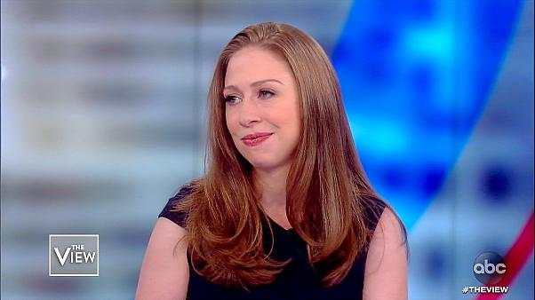 "Chelsea Clinton on ""The View"" on Oct. 16, 2019."