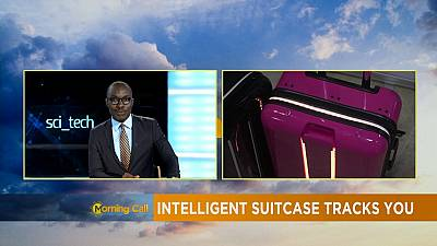 Intelligent suitcase tracks you [Sci Tech]