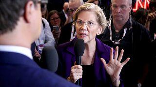 Image: Democratic Presidential Candidates Participate In Fourth Debate In O