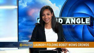 Clothes-folding robot 'FoldiMate' [The Morning Call]