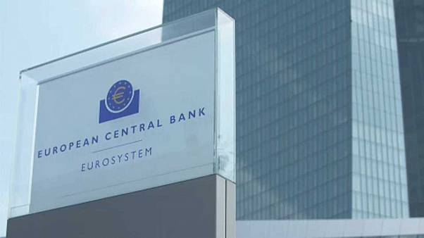 Sede do Banco Central Europeu em Franquefurte