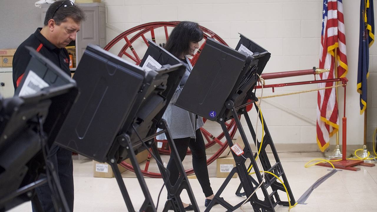 Image: Polling station