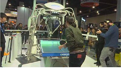 Forpheus, un robot entraîneur de ping-pong