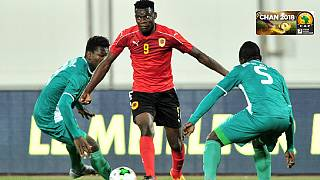 CHAN 2018: Cameroon lose to lucky Congo as Angola and Burkina Faso draw