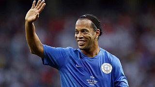 Brazil legend Ronaldinho retires from football