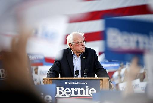 Image: Sen. Bernie Sanders Makes First Campaign Stop In Colorado For 2020 R