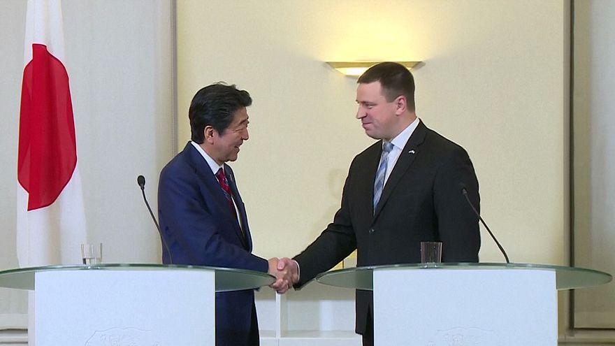 Le Japon met le cap sur la Bulgarie et l'Estonie