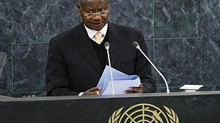 Museveni accuses U.N. of 'preserving terrorism' in eastern Congo
