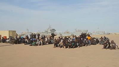 1,400 migrants rescued at sea, 2 bodies recovered - Italian coastguard