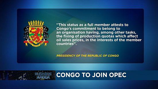 Le Congo veut rejoindre l'OPEP et les impacts de la levée des sanctions des USA au Soudan [Business Africa]