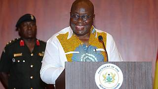 Ghana's President Akufo Addo says the country's economy is back on track