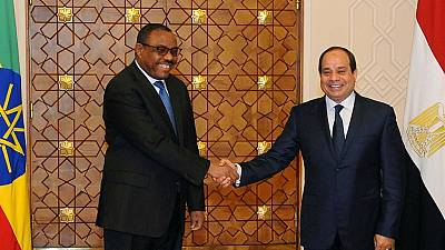 Ethiopia, Egypt leaders say Nile dam must not destroy relations