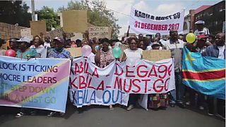 RDC - Manifestation : la diaspora de johannesburg s'y mêle