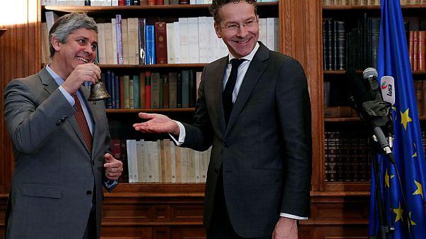 Centeno começa a arbitrar Eurogrupo com Grécia na agenda