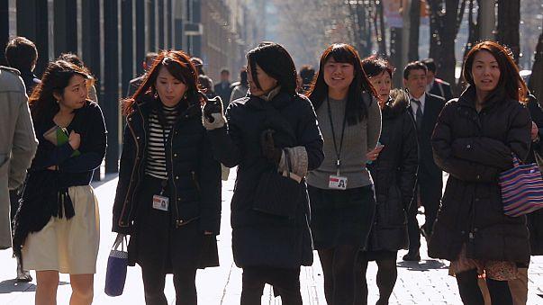 Empresas japonesas fazem a corte às mulheres