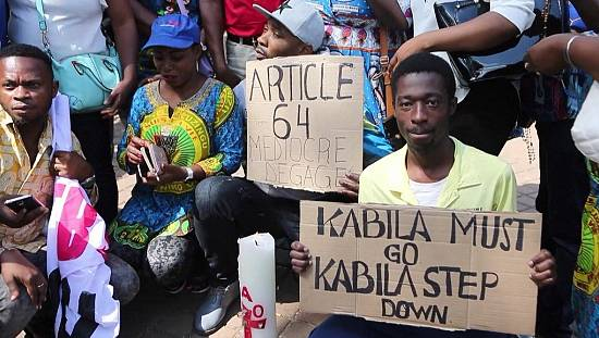 Johannesburg: Congolese community protests against Kabila [No Comment]