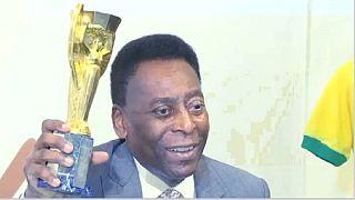 Brésil : l'hospitalisation de Pele, démentie par son porte-parole