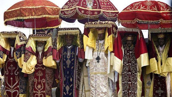 Orthodox Ethiopians celebrate Baptism of Christ, Timket
