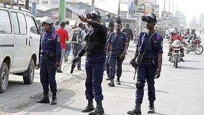 RDC: la police disperse des marches interdites à Kinshasa