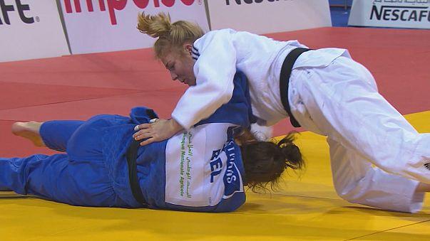 Judo: Polling et Smagulov en démonstration