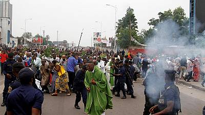 Marches interdites RDC : six morts à Kinshasa d'après l'ONU, deux d'après les autorités
