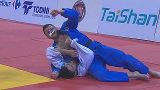 جودو؛ جواد محجوب مدال نقره سنگین ترین وزن گرند پری تونس را دریافت کرد