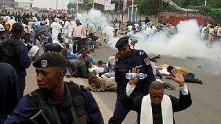DR Congo police arrest 10 anti-Kabila priests, over 250 protesters