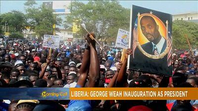 Libéria : George prête serment [The Morning Call]