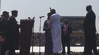 George Weah a prêté serment comme président du Liberia