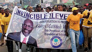 Investi président, George Weah, espoir de millions de Libériens