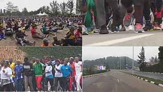 Kigali's first monthly car free day encourages more exercises