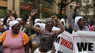 Kenyan women protest, demand representation in cabinet