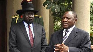 U.N. releases aid death toll in S.Sudan, Kiir in S.Africa for talks