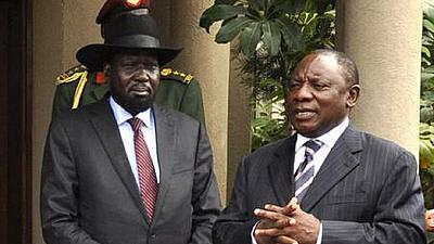 U.N. releases aid death toll in S. Sudan, Kiir in S. Africa for talks