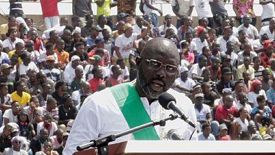 Liberia : Weah promet l'éradication de la corruption et la réduction de la pauvreté