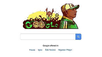 Stephen Keshi: Google honours ex-Nigeria AFCON legend