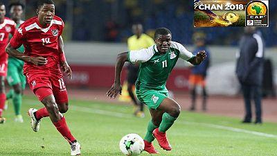 CHAN 2018: Zambia Top Group B Despite Draw With Namibia