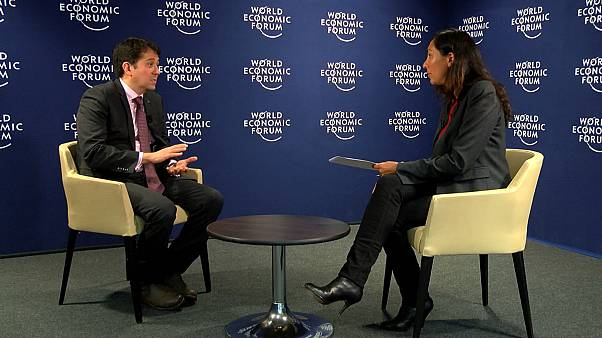 Davos 2018: Euronews in conversation with WEF managing director Lee Howell
