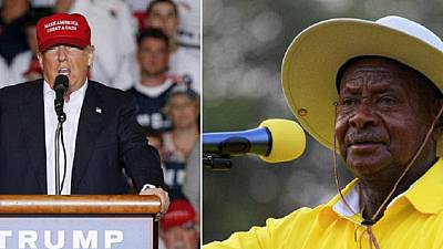 Museveni loves Trump because 'he speaks frankly to Africans'