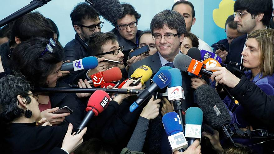 Brief: Catalan leaders pow wow in Brussels and the EU explores new opportunities in space