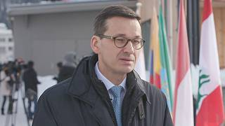 Euronews speaks with Polish Prime Minister Mateusz Morawiecki at the World Economic Forum in Davos