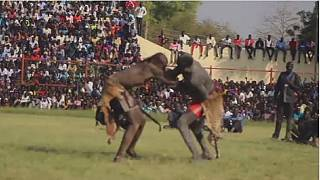 South Sudanese using wrestling as a tool for peace