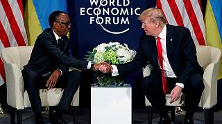 Kagame – Trump meet in Davos, 'shithole' question sidestepped