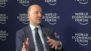 من دافوس حوار حصري مع موسكوفيسي: النقص في الاستثمار هو نقطة ضعف أوروبا