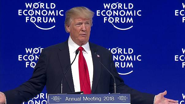 Laughed at and booed, Donald Trump spoke at Davos
