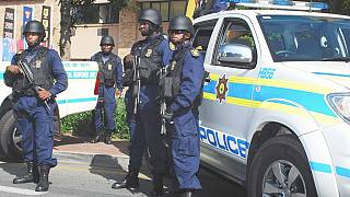 South African police conduct raids in provincial offices