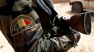 Mali's president reassures after gunmen kill 14 soldiers