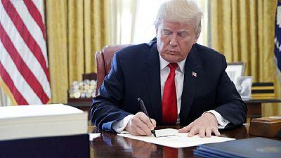 """Les Etats-Unis """"respectent profondément"""" les Africains, assure Trump dans un courrier"""